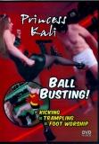 Princess Kali Ball Busting KNALLHART FEMDOM!!!