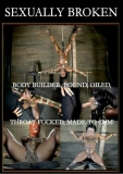 Sexually Broken - Bodybuilder Bound & Oiled