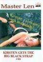 Master Len Kirsten gets the big black Strap